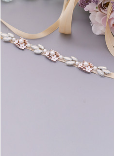 jewel wedding dress sash