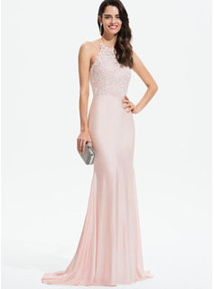 halter cut out prom dress