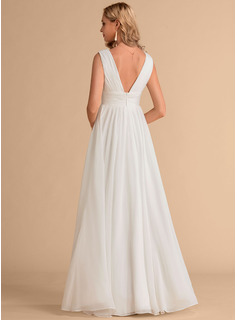 simple natural wedding dresses