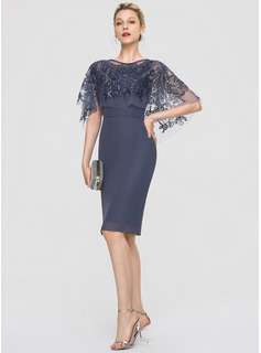 navy high neck dress long