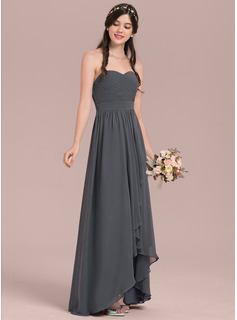 high low lace bridesmaid dresses