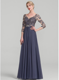 black a line evening dress