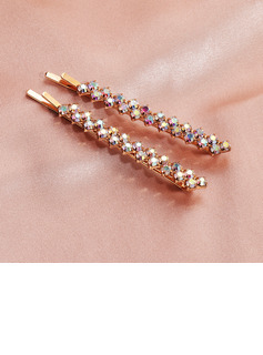Ladies Rhinestone Hairpins (Set of 2)