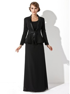 best black wrap dress