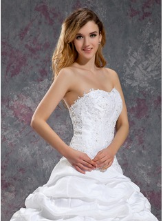 cheap chiffon wedding dress