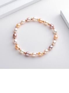 Ladies' Unique Pearl Bracelets
