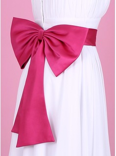Nice Satin Sash With Bow