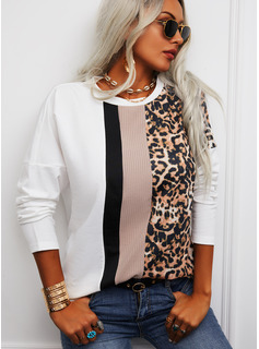 Regular Fitted Casual Long Sleeves