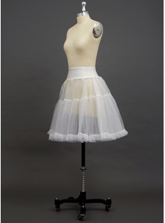 wedding dress petticoat with train