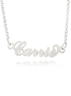 Custom Letter Carrie Name Necklace - Birthday Gifts Mother's Day Gifts