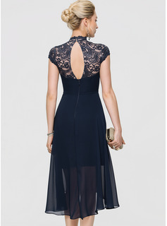 navy evening dress plus size