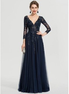 strapless black lace maxi dress
