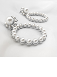 Ladies' Elegant Alloy/Imitation Pearls Imitation Pearls Earrings For Bridesmaid/For Mother/For Friends
