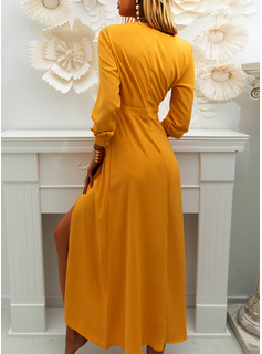 ladies evening dresses tea length