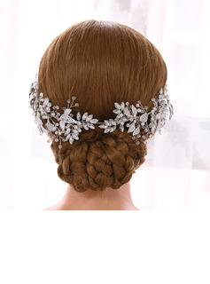 Ladies Glamourous Rhinestone/Copper Headbands (Sold in single piece)