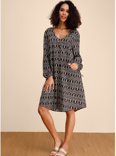 long flowy dresses with sleeves