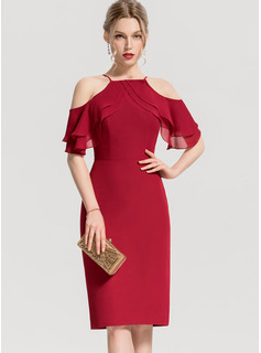 red halter neck maxi dress