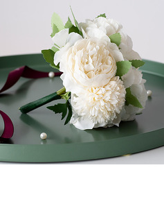 Hand-tied Silk Flower/Plastic Decorations (Sold in a single piece) -
