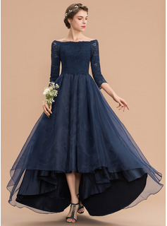lace empire waist bridesmaid dress