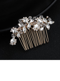 Ladies Rhinestone Combs & Barrettes (Sold in single piece)