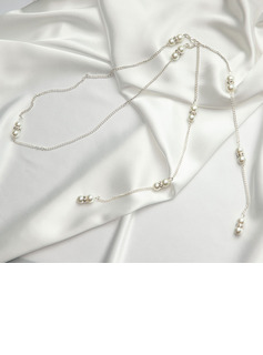 Elegant Imitation Pearls With Imitation Pearls Ladies' Necklaces
