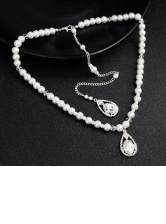 Ladies' Elegant Imitation Pearls Pearl Necklaces For Bridesmaid/For Friends/For Her