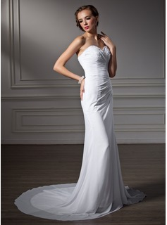 affordable white lace wedding dresses