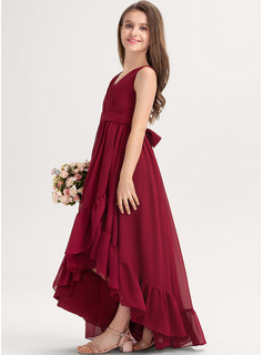 dress red long sleeves