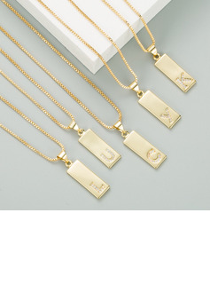 Custom 18k Gold Plated Name Necklace -