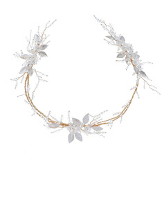 Ladies Gorgeous Crystal/Acrylic/Copper Headbands With Crystal (Set of 3)
