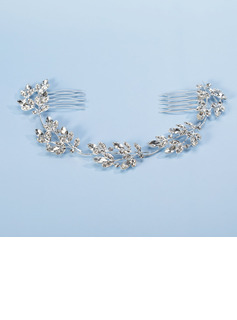 Gorgeous Alloy With Rhinestone Ladies' Hair Jewelry
