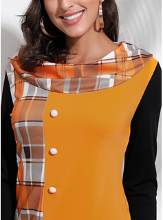 Long Sleeves Round Neck Blouses