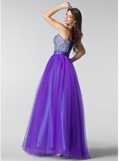 blue jeweled mermaid prom dress