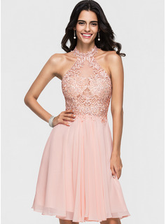 blush pink fitted prom dress