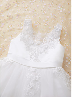 lace tank top wedding dress