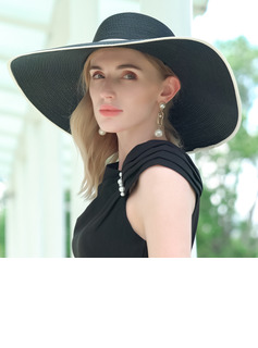 Ladies' Classic/Simple Polyester/Satin Floppy Hats