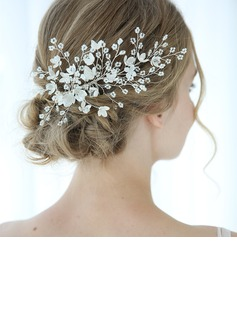 Beautiful Crystal Combs & Barrettes With Crystal (Sold in single piece)