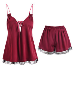 Elegant Satin Cami Sets