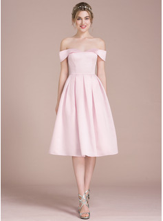 blush colored junior bridesmaid dresses