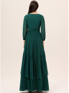 fitted evening party dress