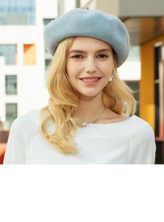 Ladies' Glamourous/Romantic/Vintage Wool Beret Hats