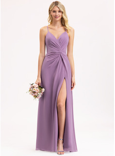mermaid evening dress with slit