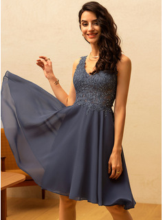 high neck sleeveless prom dress
