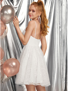 sleeveless prom dress white