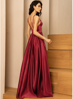 red pink gold bridesmaid dresses