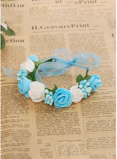 Foam/Plastic With Ribbon Headbands ( Including Wrist Corsage)