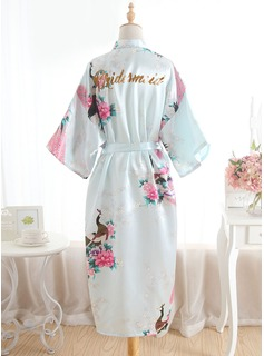 bridesmaid robes lace