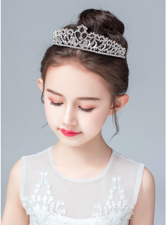 Alloy/Imitation Pearls/Crystal Tiaras