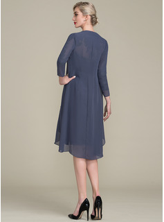 chiffon long sleeve homecoming dresses