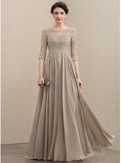 long grey lace bridesmaid dresses